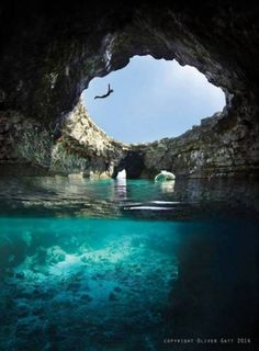 Dive into an Open Cave
