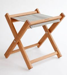 Great manly fabrics for Father's Day gifts: Handmade outdoor furniture collection of deck chairs, footstools and tables. Everything you need for beautiful outdoor living, all made in North America. | gallantandjones