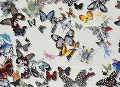 Butterfly Parade Fabric / Crush on the new Christian Lacroix collection… / The English Room Blog