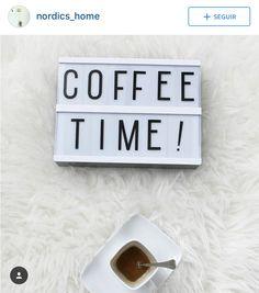 Nordic Home, Lightbox, Coffee Time, Coffee Break