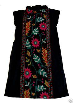 Folklore Boho Kleid Flower Print Mina