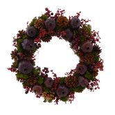 Found it at Wayfair - Pomegranate Jubilee Wreath