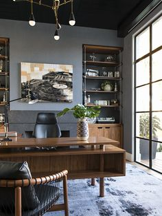 Masculine Home Office Ideas Inspiration. Masculine Home Office Ideas Inspirations Man Of Many. Dramatic Masculine Home Office Design Idea Home Office Setup, Home Office Organization, Home Office Space, Home Office Desks, Home Office Furniture, Man Office Decor, Small Office, Furniture Ideas, Organization Ideas