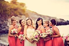 These bridesmaids looked gorgeous in J.Crew. // Photo courtesy of Tamiz Photography
