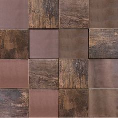 METAL BRONZE CUBES - 100171985 : Metallic mosaics with different designs, sizes, colors, and finishes that open up a number of options for covering any space. Mosaic Wall, Mosaic Tiles, Copper Tile Backsplash, Cube Unit, Metal Floor, Glass Boxes, Shower Floor, Diy Garden Decor, Colonial