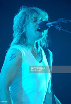 Guitarist Rick Savage of Def Leppard performs on stage in Tingley Coliseum on November 2 2005 in Albuquerque New Mexico Beatles, Savage Pictures, Vivian Campbell, Phil Collen, Rick Savage, Albuquerque News, Joe Elliott, Def Leppard, Rock Music