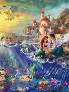 The little mermaid. Ariel  Eric