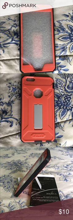 6s Plus iPhone case - Brand New Comes from pet friendly smoke free home. I am just cleaning my closet & trying to get some cash for kids college fund. I have lots of items still NWT & NWOT along with some in EUC so please take look at my listings. Bundles & offers welcome! Happy poshing! J & D Accessories Phone Cases