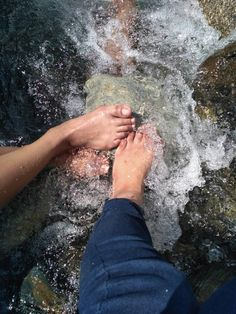 A different kinda cold feet