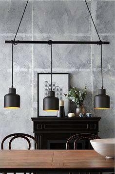 Det behøver ikke koste en krig at skifte dine lamper ud. Interior Lighting, Lighting Design, Yellow Accent Chairs, Led Desk Lamp, Modern Kitchen Design, Inspired Homes, Spotlights, Diy Design, Floor Lamp