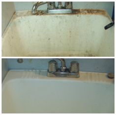 Bar Keepers Friend is great at restoring old sinks. Give it a try.