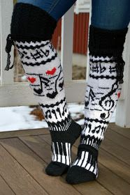 KARDEMUMMAN TALO: Karnaluksissa uusia tuulia Leg Warmers, Tutu, Socks, Legs, Pattern, Crafts, Fashion, Leg Warmers Outfit, Moda