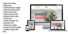 Discount Deals Deluxe Responsive Magento Themeyou will get best price offer lowest prices or diccount coupone