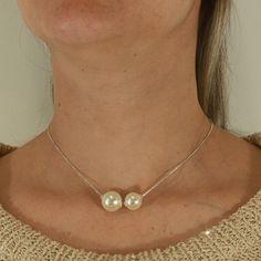 29 melhores imagens de Colares e Gargantilhas   Necklaces, Vintage ... ce103efc01