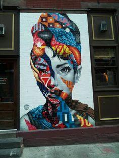 Audrey Hepburn...Brooklyn style