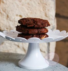 Espresso Triple Chocolate Cookies