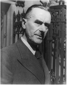 Thomas Mann German writer  He wrote Doktor Faustus and Death in Venice