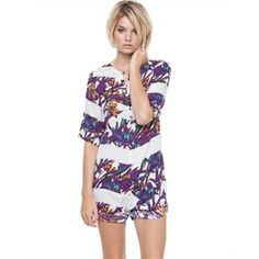 Maurie & Eve - Chasing Light Playsuit from Little Sale Birdy