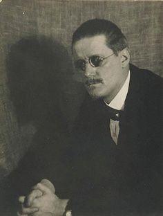 by Man, Ray (1890-1977) James Joyce Date: 1922