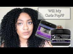 Will My Curls POP?!? Wash n Go| The Mane Choice - YouTube The Mane Choice, Shave My Head, Hey Love, Wash N Go, Biotin, Hair Products, Hairdresser, Curls, Choices