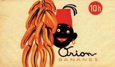 Zdenek Rykr: Obal Orion Bananes, kolem 1935 Modern Art, Contemporary Art, Cubism, Poster, Design, Beautiful, Billboard, Contemporary Artwork, Contemporary Artwork