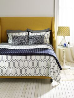 Customize your bed. With over 60 fabrics, it's easy to make it yours.