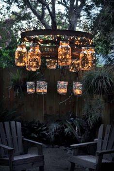 Backyard Lighting, Outdoor Lighting, Ceiling Lighting, Garden Lighting Ideas, Lights In Garden, Outside Lighting Ideas, Pond Lights, Balcony Lighting, Lights For Backyard