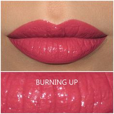 Shiseido Rouge Rouge lipstick in Burning Up, review and swatch | Buy it here : http://rstyle.me/~9xCeT