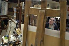 Bruits de Coulisses chez Jean Fusaro Lyon, Magazine Rack, Artists, Storage, Furniture, Home Decor, Purse Storage, Decoration Home, Room Decor