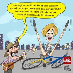 La Paya, Cartoons, Comic Books, Humor, Comics, Cover, Bicycle Kick, Bike, Fiestas