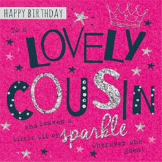 Happy Birthday Cousin Quotes Gorgeous Happy Birthday Cousin Quotes  Happy Birthday Cousin  Sparkle