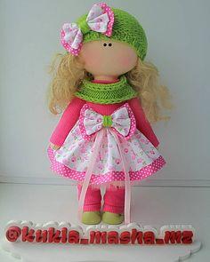 """83 Me gusta, 3 comentarios - Дом кукол Марии Зверевой (@kukla_masha_mz) en Instagram: """"Добрый день! Сегодня появилась новая девочка в любимой многими цветовой гамме :-)"""""""