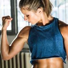 All you need is 4 mintues for this Tabata routine. Tone your arms, abs, and shoulders in no time with this quick, heart-pounding circuit. | Health.com