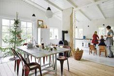 House In Scandinavian Minimalism With Vintage | DigsDigs
