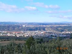 OLESA DE MONTSERRAT i ESPARREGUERA vistes camí del Puigventós, a Olesa de Montserrat.