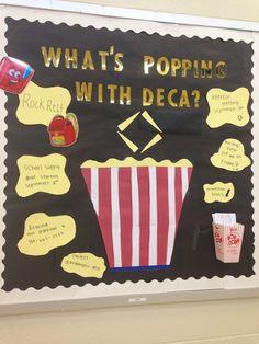 Great bulletin board idea from Weddington DECA!