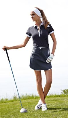 Love this Golf outfit... I WILL learn to play soon!