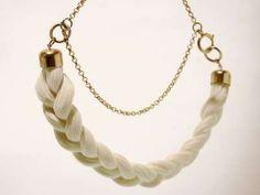 Victorian Inspired Braided Hair Jewellery By Grau Wal