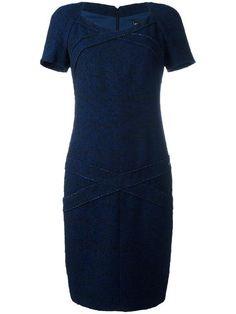 Comprar Chanel Vintage vestido a paneles ajustado.