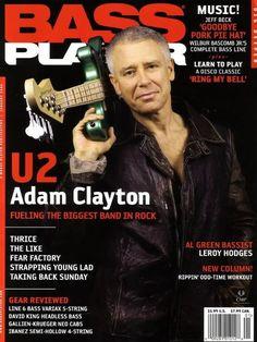 U2 -Magazine Bass Player-Adam Clayton -Janvier 2006