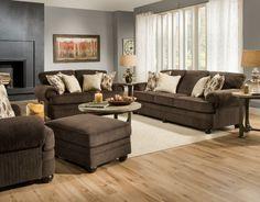Brown Sofa Set   Lounge Sofa