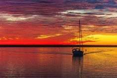 Sailboat in Oceanside Harbor at Sunset - December 2, 2013 by Rich Cruse on 500px