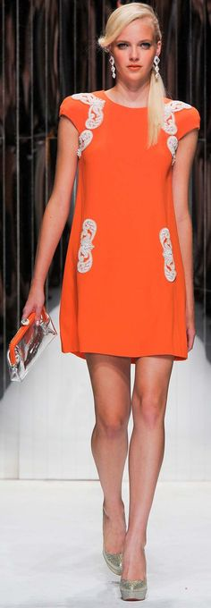 #Jenny Packham Spring Summer 2013 Ready-To-Wear Collection #Trend Ladylike Dresses