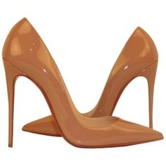Pre-owned Christian Louboutin So Kate 120 Sz 39.5 (us 9) Nude Pumps