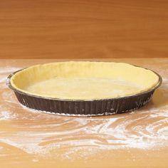 Receita Massa prática para tortas e quiches
