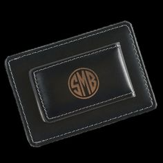 Personalized Leather Money Clip/Card Holder Groomsmen, Dads and Grads alike will all love this sleek, top of line leather money clip/card holder. The thin design makes it e...