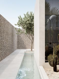 greece architecture house Greece Villa on Behance Architecture Durable, Architecture Design, Sustainable Architecture, Greece Architecture, Appartment Design, Exterior Design, Interior And Exterior, Outdoor Spaces, Outdoor Living