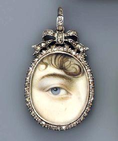 Georgian period eye miniature.