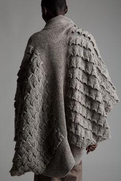 Decorialab knitwear Studio www.decorialab.com — (via Vintage Issey Miyake Cocoon Sweater KN19  ...