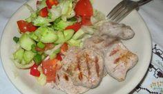 Fotorecept: Bravčová panenka ala steak so šalátom